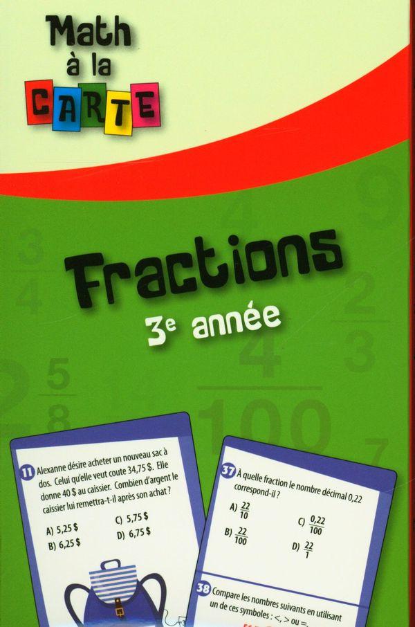Fractions - 3e année