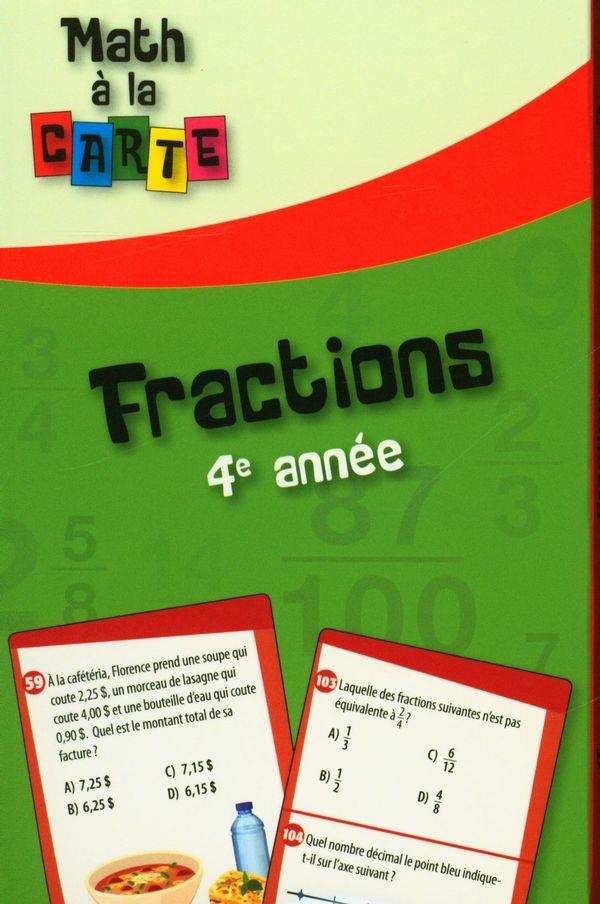 Fractions - 4e année