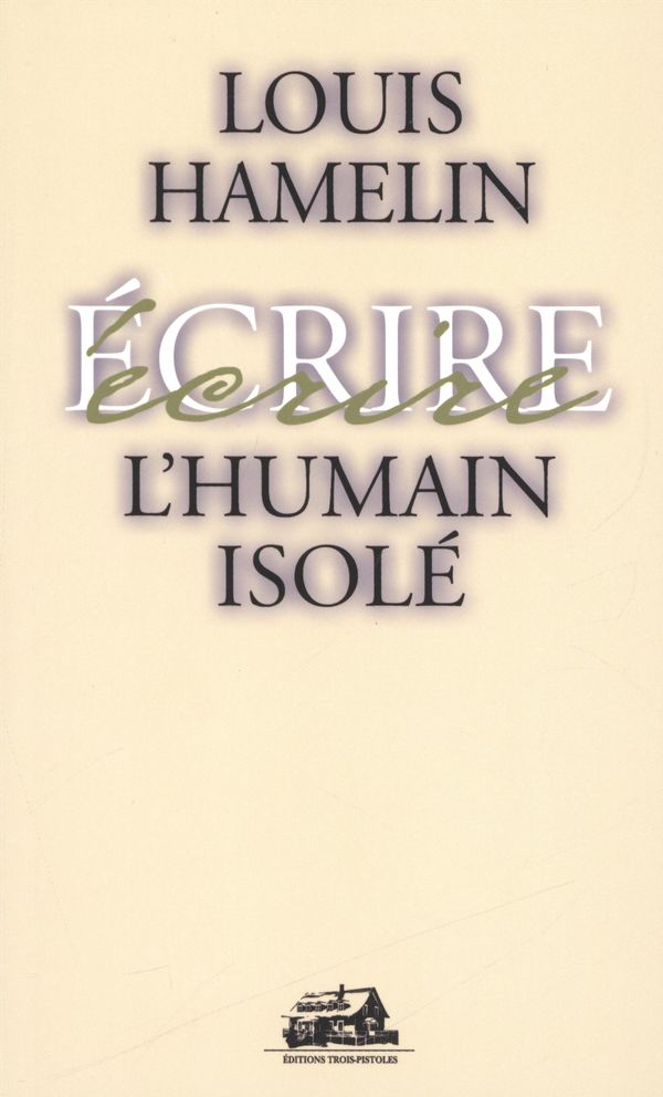 L'humain isolé