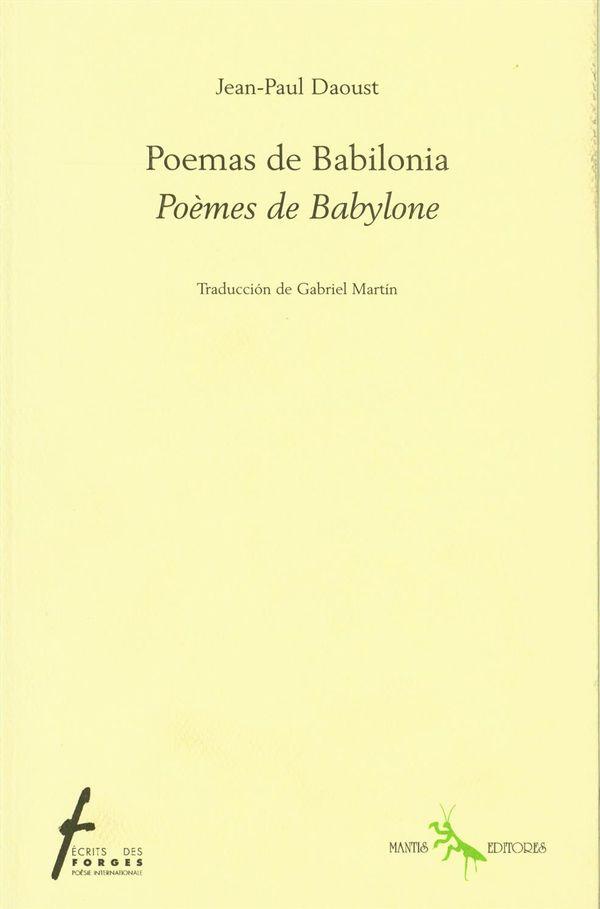 Poemas de Babilonia : Poèmes de Babylone