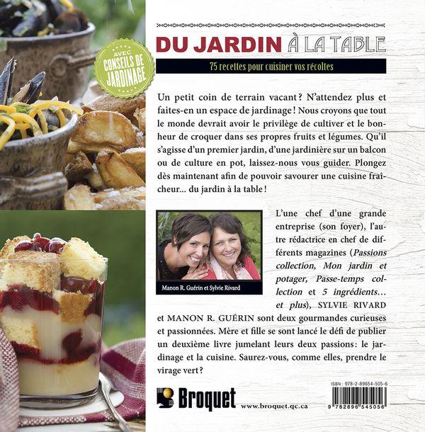 Du jardin la table distribution prologue for La table du jardin