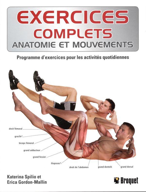 Exercices complets : anatomie et mouvements