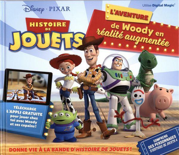 Histoire de jouets : L'aventure de Woody en réalité augmentée