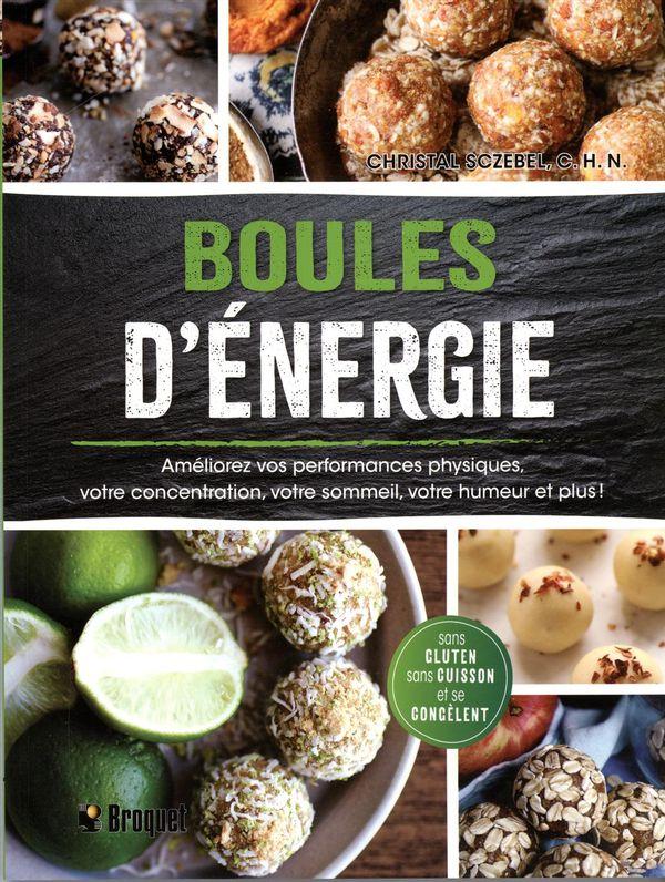 Boules d'énergie  Sans cuisson et sans gluten