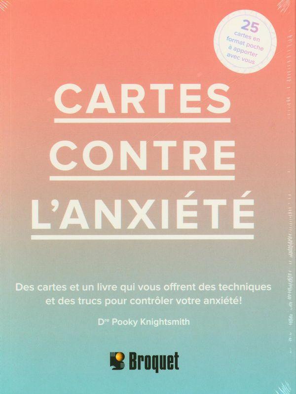 Cartes contre l'anxiété