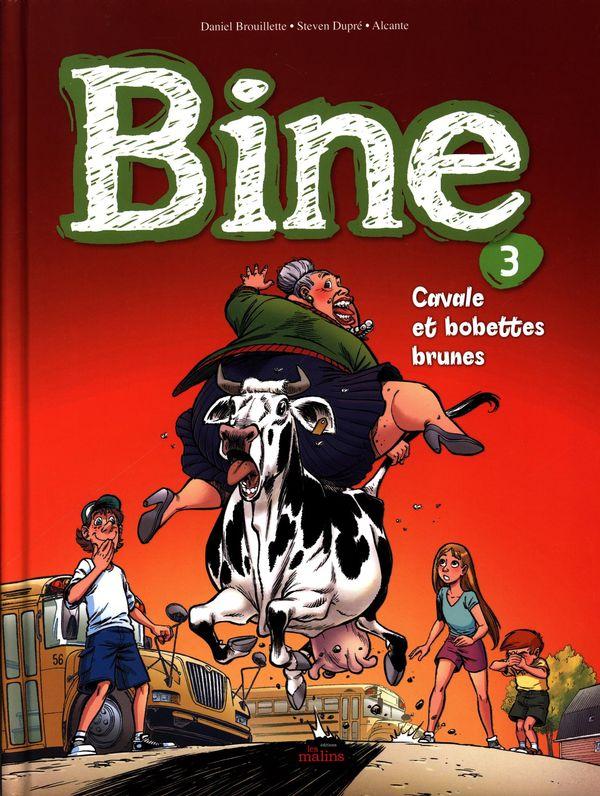BD Bine 03 : Cavale et bobettes brunes