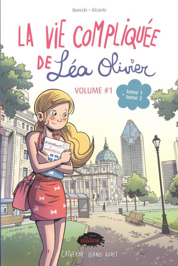 La vie compliquée de Léa Olivier : Bundle BD 01