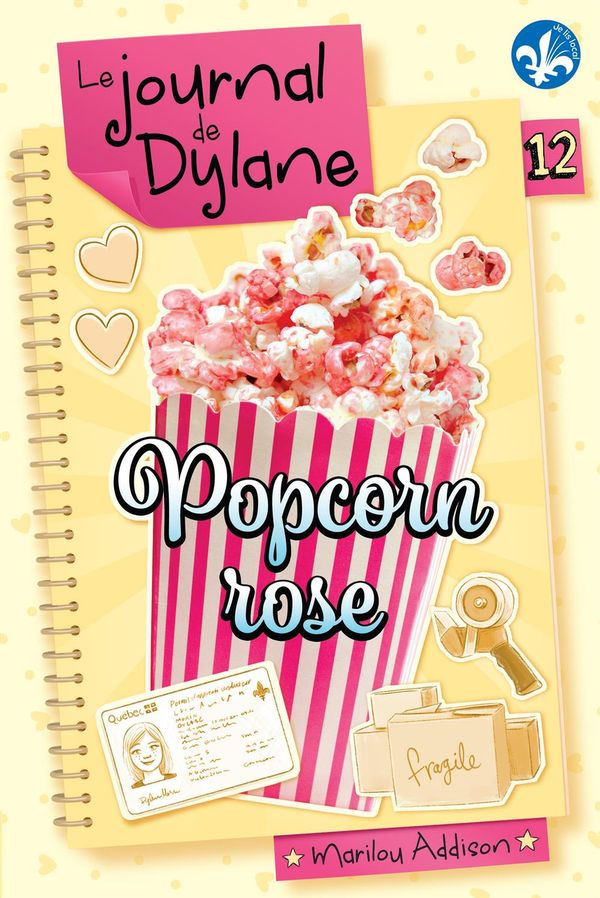 Journal de Dylane Le 12  Popcorn rose