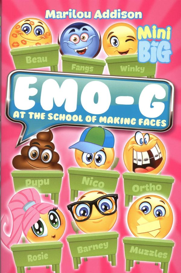 Emo-g at the school of making faces