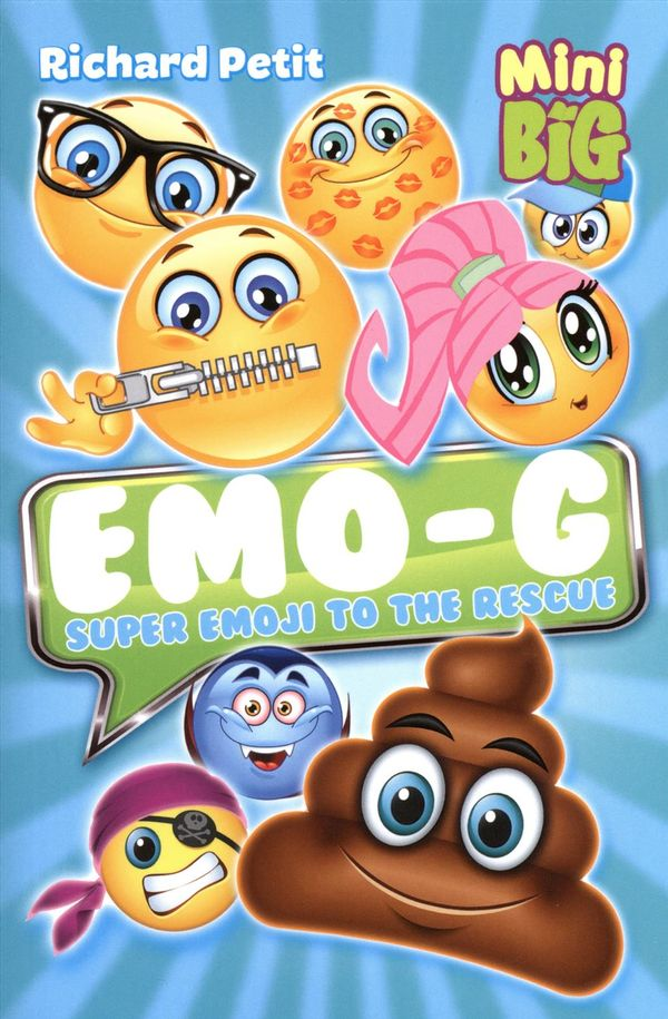 Emo G Super Emoji To The Rescue Distribution Prologue