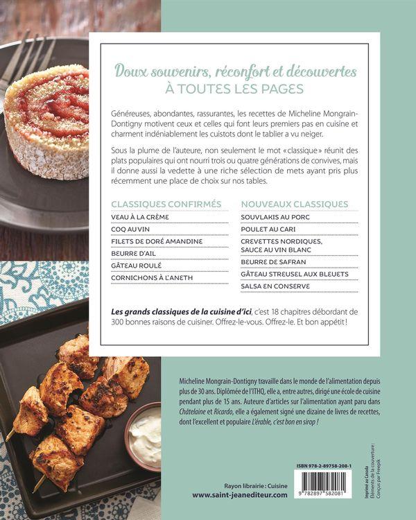 Les grands classiques de la cuisine d 39 ici distribution - Cuisine de reference pdf ...