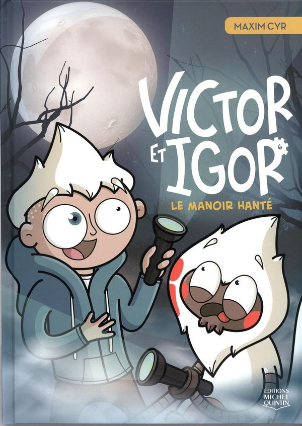 Victor et Igor 06 : Le manoir hanté