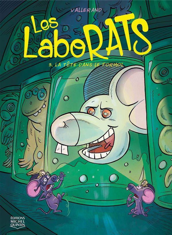 Les Laborats 03 :  La tête dans le formol