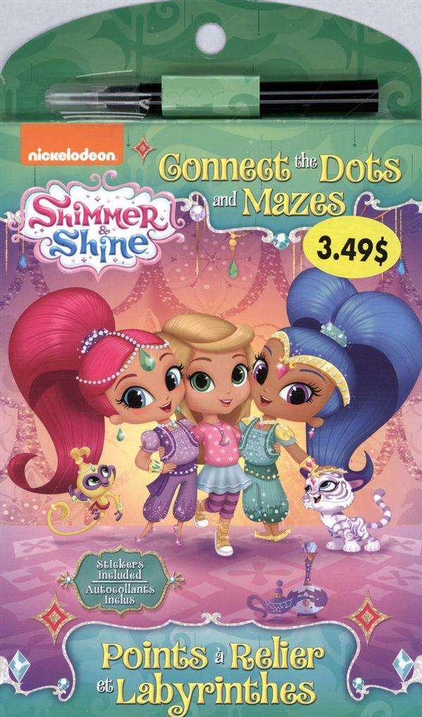 Shimmer & Shine : Points à relier et Labyrinthes