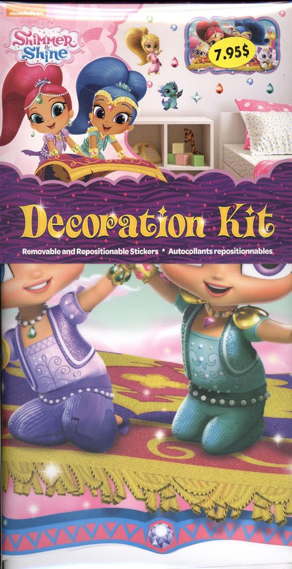 Shimmer & Shine - Décoration kit