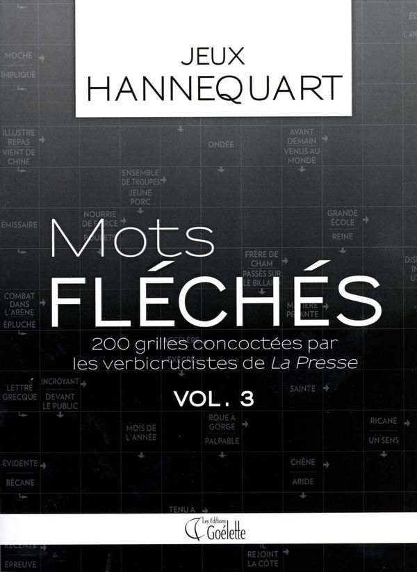Mots fléchés 03