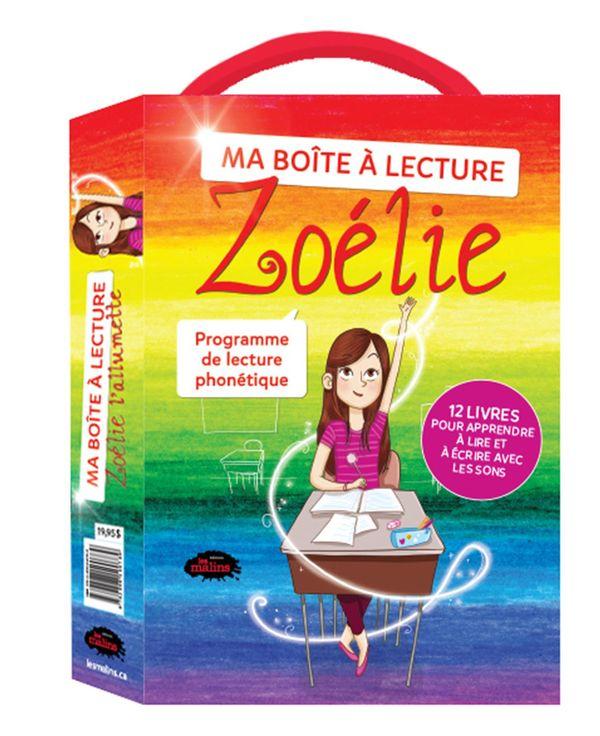 Ma boîte à lecture Zoélie l'allumette