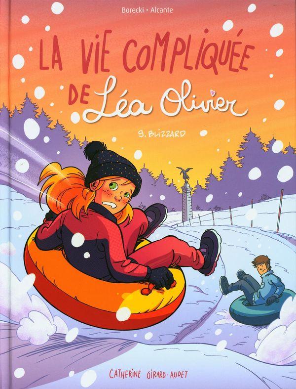 BD La vie compliquée de Léa Olivier 09 : Blizzard