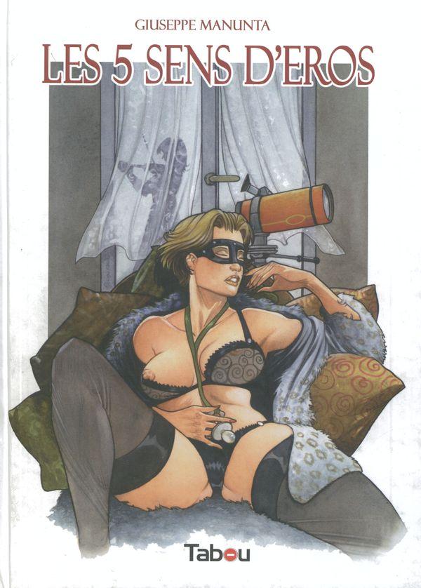 Bd erotique les 5 sens d'eros