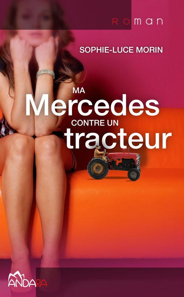 Ma Mercedes contre un tracteur 01