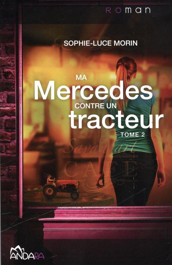 Ma Mercedes contre un tracteur 02