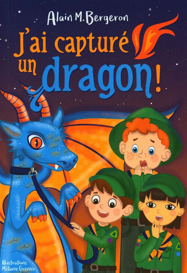 J'ai capturé un dragon!
