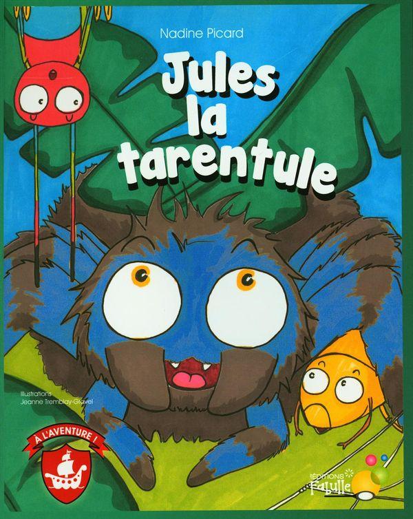 Jules la tarentule : Jules chez les sauterelles