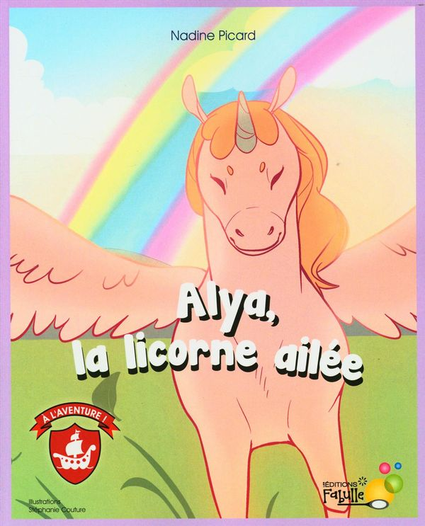 Alya, la licorne ailée