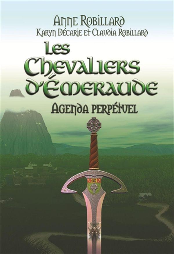 Chevaliers d'Emeraude Les - Agenda perpétuel