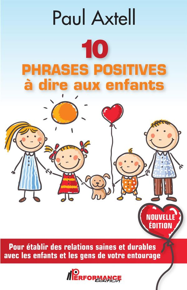 10 phrases positives à dire aux enfants N.E.