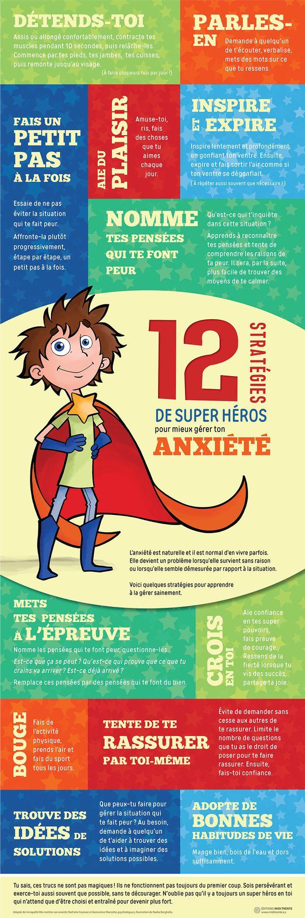 12 stratégies de super héros pour mieux gérer ton anxiété