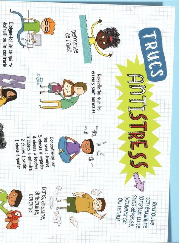 Affiche des trucs antistress
