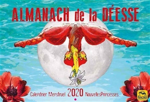Almanach de la Déesse - Calendrier menstruel 2020 Nouvelles Princesses