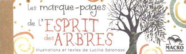 Les marque-pages de l'esprit des arbres