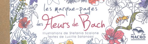 Les marque-pages des Fleurs de Bach