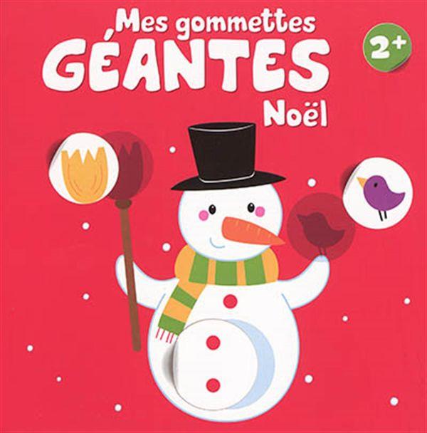 Mes gommettes géantes - Noël 2+
