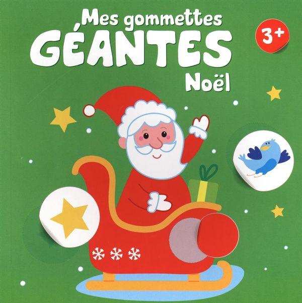 Mes gommettes géantes - Noël 3+