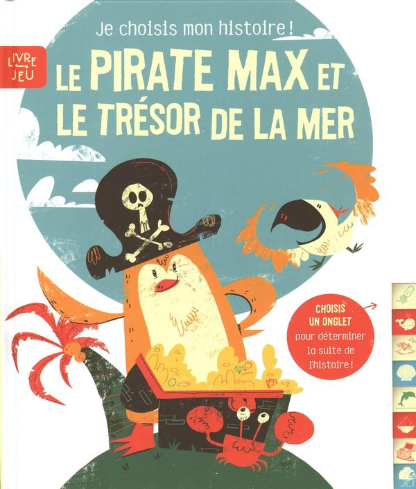 Le pirate Max et le trésor de la mer