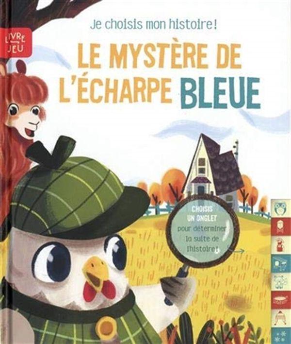 Le mystère de l'écharpe bleue