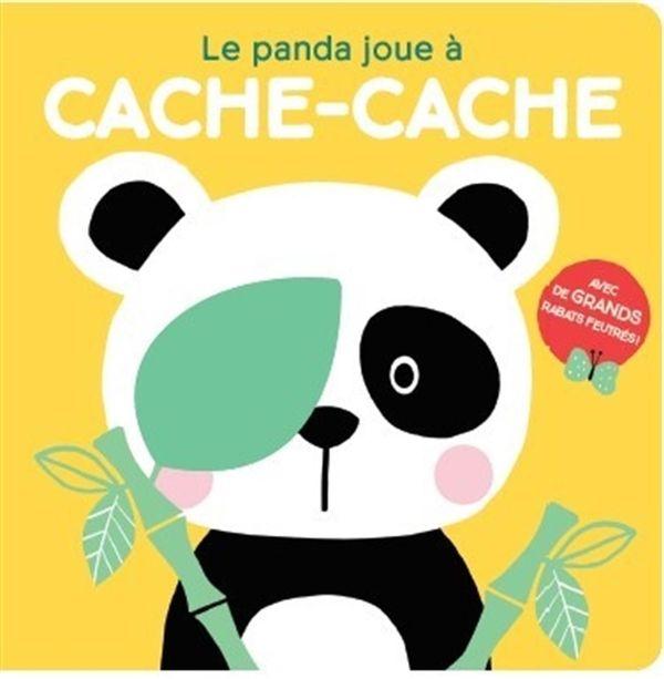 Le panda joue à cache-cache : Les bébés animaux