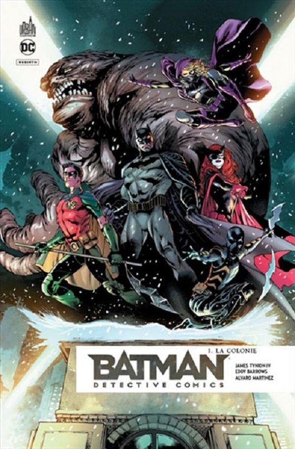 Batman Detective comics 01 : La colonie