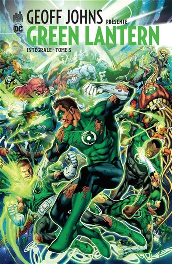 Geoff Johns présente Green Lantern Intégrale 05