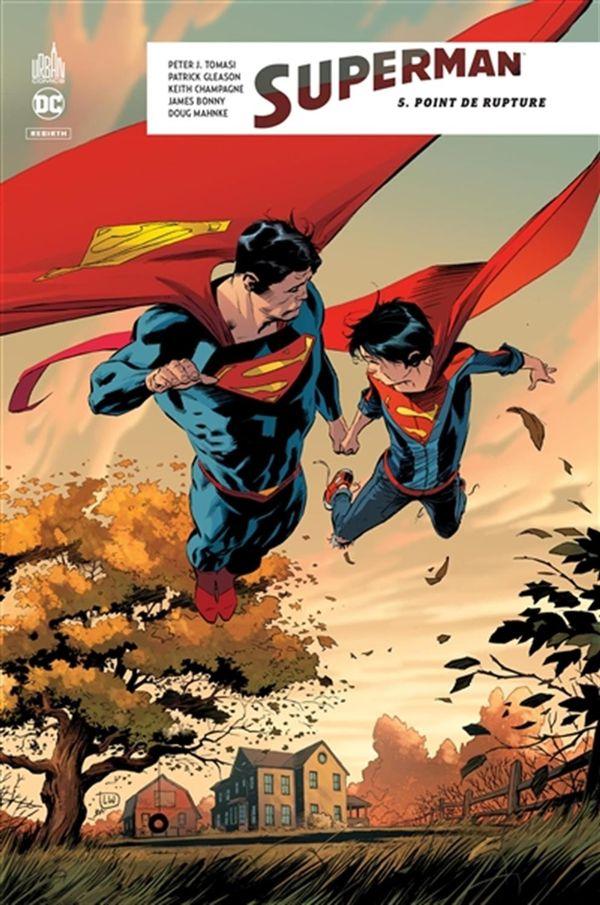 Superman rebirth 05 : Point de rupture