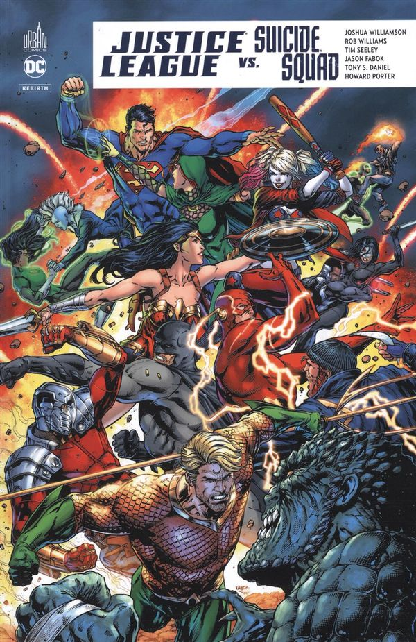 Justice League vs Suicide Squad Rebirth