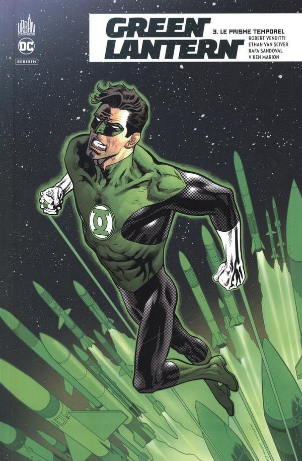 Green Lantern rebirth 03 : Le prisme temporel