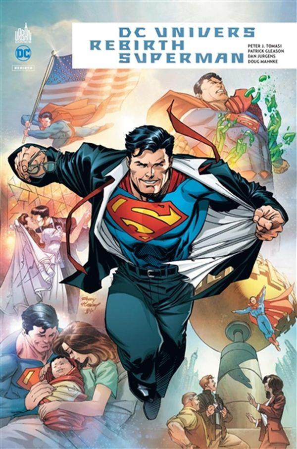 Superman DC Univers rebirth