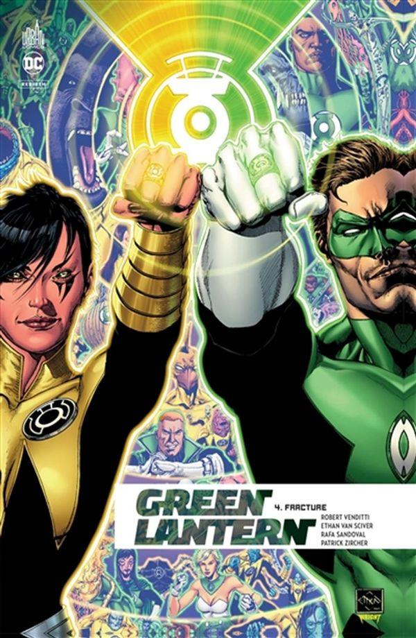 Green Lantern rebirth 04 : Fracture