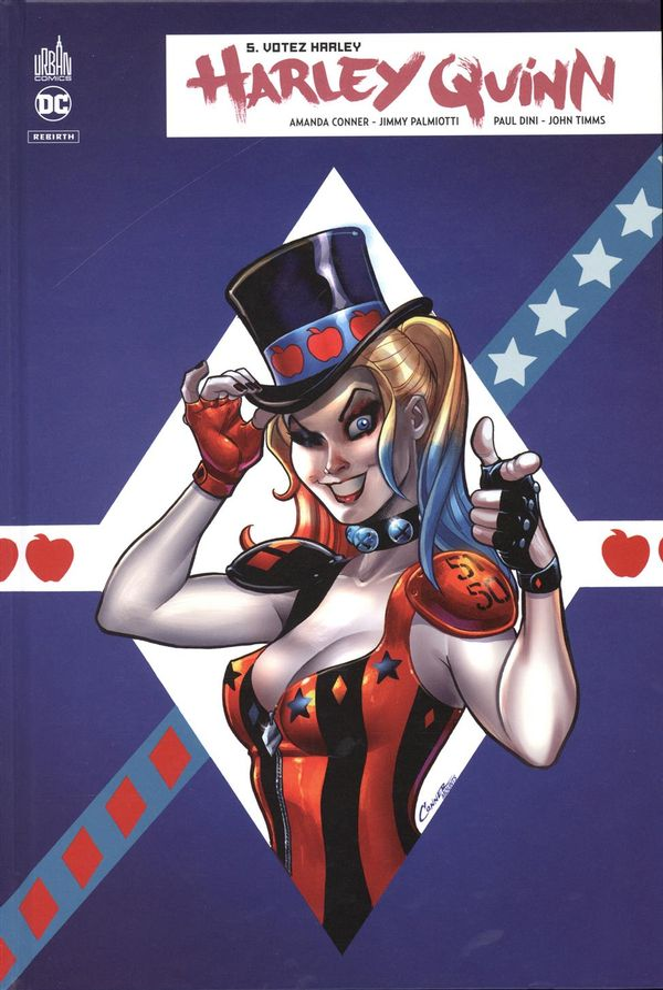 Harley Quinn rebirth 05 : Votez Harley