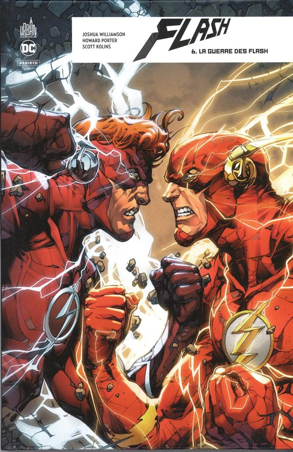 Flash Rebirth 06 : La guerre des Flash