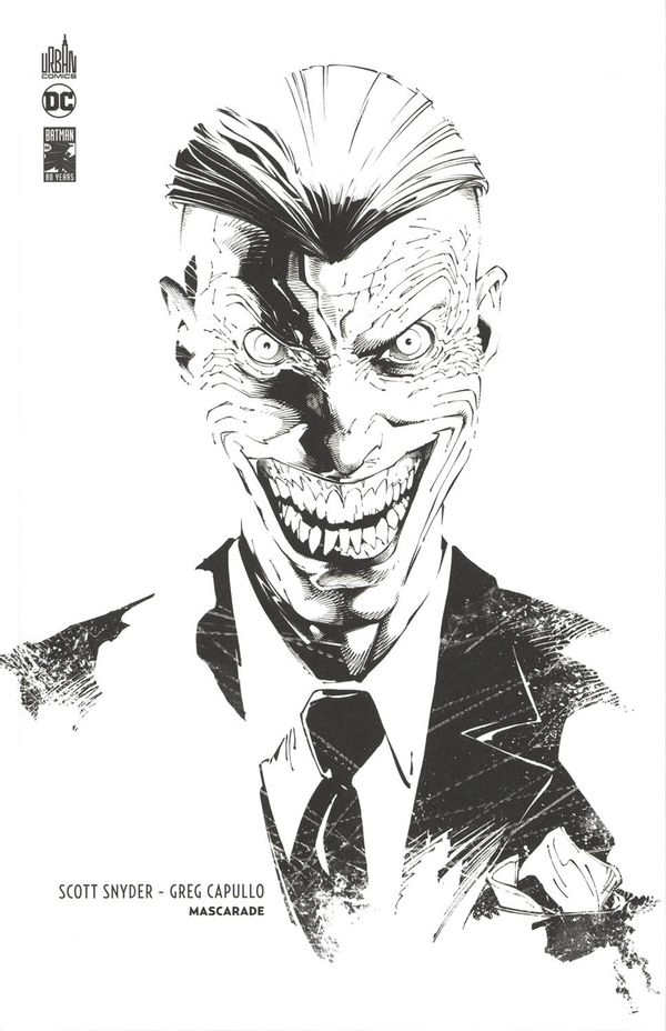 Batman - Mascarade édition N&B 80 ans